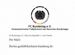 FC Bundestag gegen Dardania Bamberg @ Friedrich-Ludwig-Jahn-Sportpark