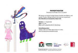 Komm und mach mit beim Papiertheater! @ Lui20